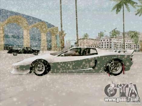 Ferrari Testarossa Custom for GTA San Andreas back left view