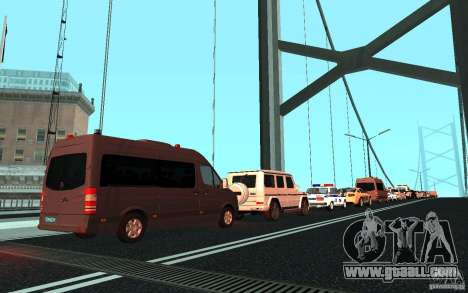 The presidential motorcade v. 1.2 for GTA San Andreas third screenshot