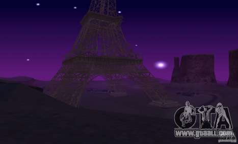 The Eiffel Tower from Call of Duty Modern Warfar for GTA San Andreas sixth screenshot