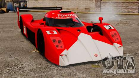 Toyota GT-One TS020 for GTA 4