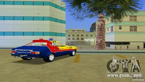 Ford Falcon 351 GT Interceptor for GTA Vice City inner view