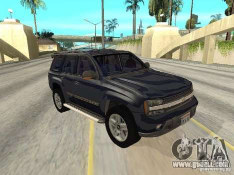 Chevrolet TrailBlazer 2003 for GTA San Andreas