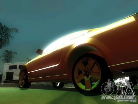 Ford Mustang GT for GTA San Andreas side view