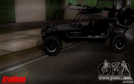 Desert Patrol Vehicle for GTA San Andreas back left view