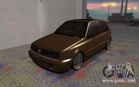 Volkswagen Golf Mk3 for GTA San Andreas