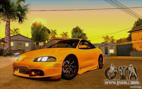 Mitsubishi Eclipse GSX Mk.II 1999 for GTA San Andreas
