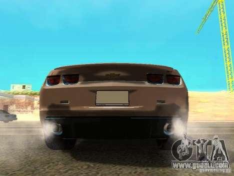 Chevrolet Camaro SS 2010 for GTA San Andreas right view