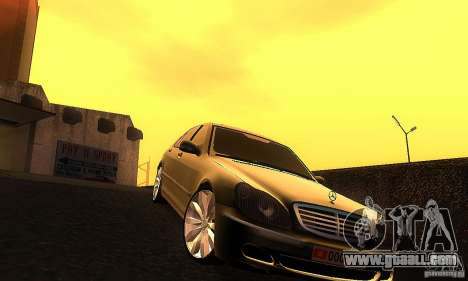 Mercedes-Benz S600 W200 for GTA San Andreas back view