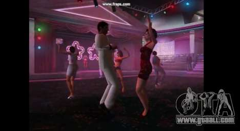 Dance mod for gta vice city for GTA Vice City third screenshot