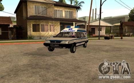 FSO Polonez Cargo MR94 Ambulance for GTA San Andreas