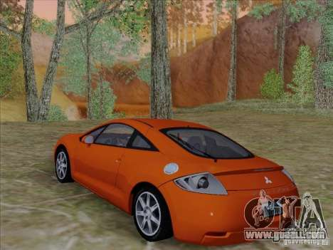 Mitsubishi Eclipse GT V6 for GTA San Andreas upper view
