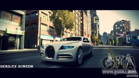Bugatti Galibier 16C (Bug fix) for GTA 4 side view
