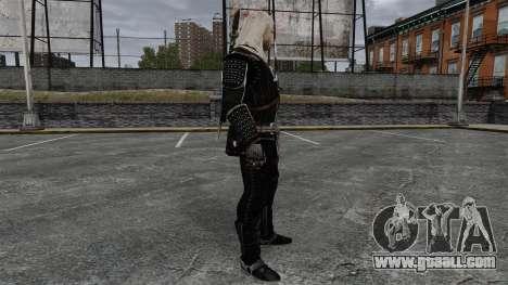 Geralt of Rivia v8 for GTA 4 second screenshot