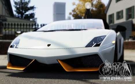 Lamborghini Gallardo LP570-4 Spyder for GTA 4 right view