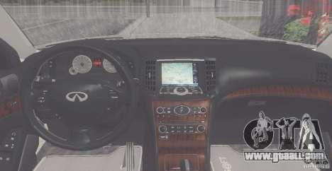 Infiniti M35 for GTA San Andreas right view