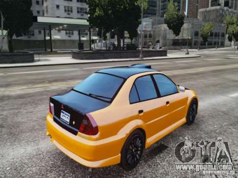 Mitsubishi Lancer Evo VI GSR for GTA 4 left view