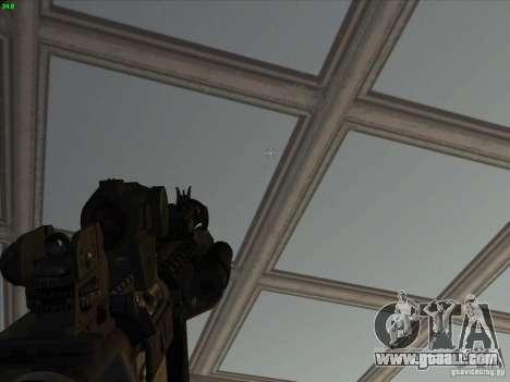 MK-18 US Navy Style for GTA San Andreas forth screenshot