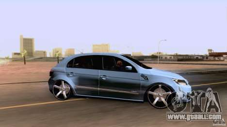 Volkswagen Golf G5 for GTA San Andreas back left view
