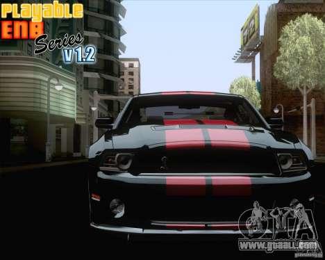 Playable ENB Series v1.2 for GTA San Andreas