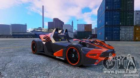 KTM X-BOW Body Kit Final for GTA 4 left view