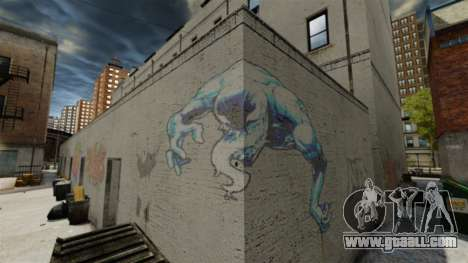 New graffiti for GTA 4 second screenshot