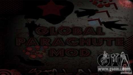 Global Parachute Mod for GTA San Andreas
