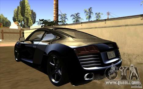 Audi R8 for GTA San Andreas left view
