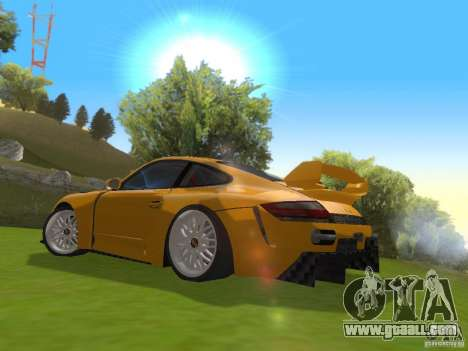 Porsche 911 Turbo Tuning for GTA San Andreas back left view
