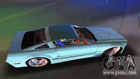 Ford Mustang 2005 GT for GTA Vice City back view