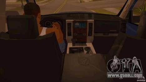 Dodge Ram 2500 HD 2012 for GTA San Andreas
