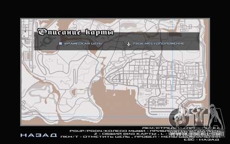 GTA V map for GTA San Andreas