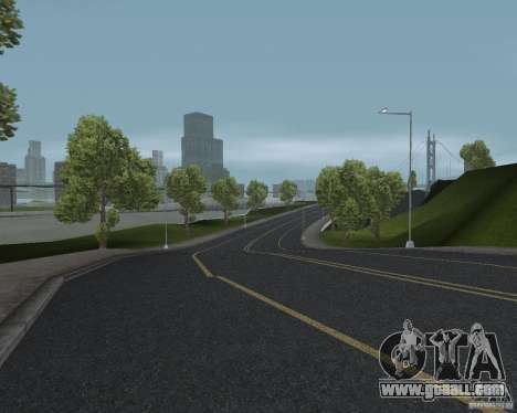 New road textures for GTA UNITED for GTA San Andreas forth screenshot