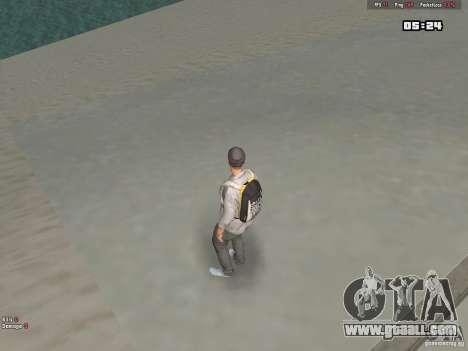 Skin Hipster v1.0 for GTA San Andreas forth screenshot