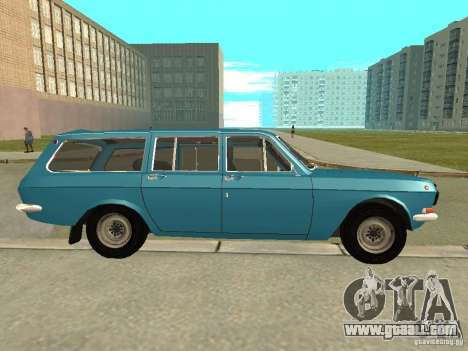 GAZ Volga 24-12 for GTA San Andreas left view