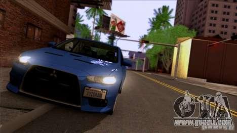 SA Beautiful Realistic Graphics 1.3 for GTA San Andreas fifth screenshot