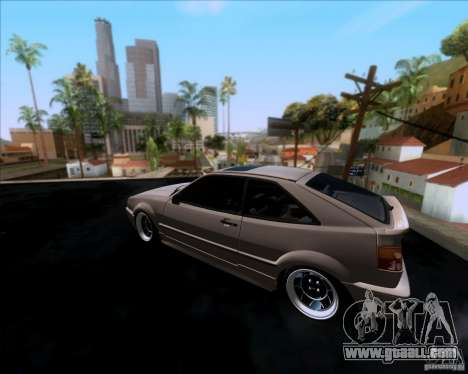 Volkswagen Corrado VR6 1995 for GTA San Andreas back left view