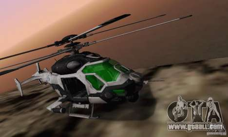 AH-2 Сrysis 50 C.E.L.L. Helicopter for GTA San Andreas right view
