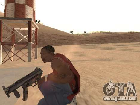 MP5K for GTA San Andreas