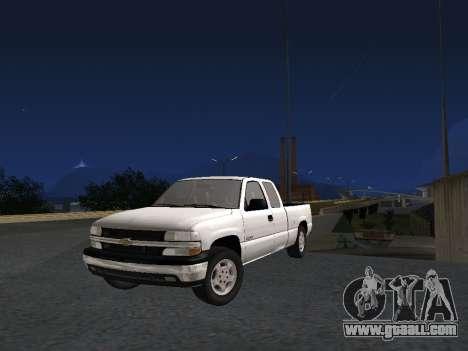 Chevorlet Silverado 2000 for GTA San Andreas