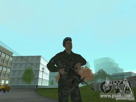Spetsnaz VDV for GTA San Andreas forth screenshot