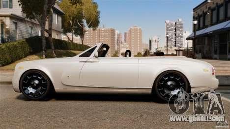 Rolls-Royce Phantom Convertible 2012 for GTA 4 left view