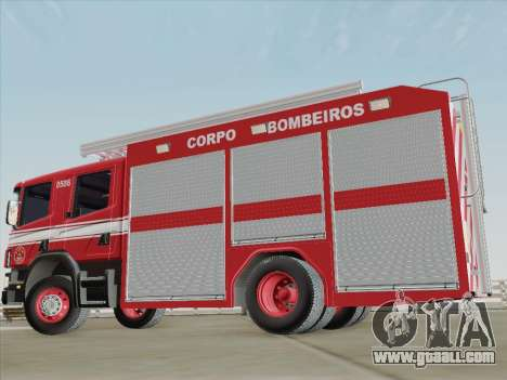 Scania 94D-260 Corpo Bombeiros SP for GTA San Andreas interior