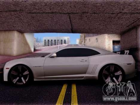 Chevrolet Camaro ZL1 SSX for GTA San Andreas left view