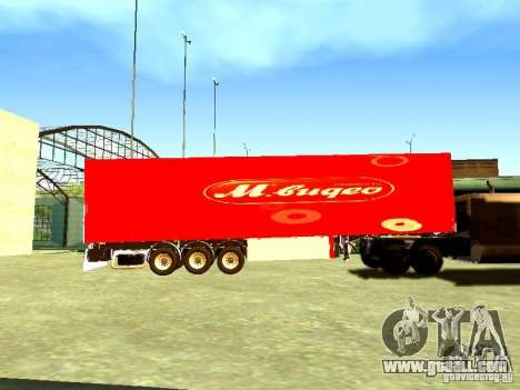 Trailer Video for GTA San Andreas left view