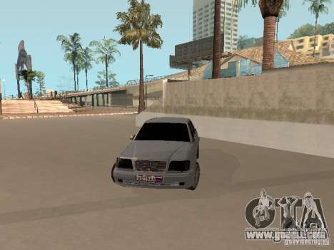 Mercedes-Benz E420 AMG for GTA San Andreas right view