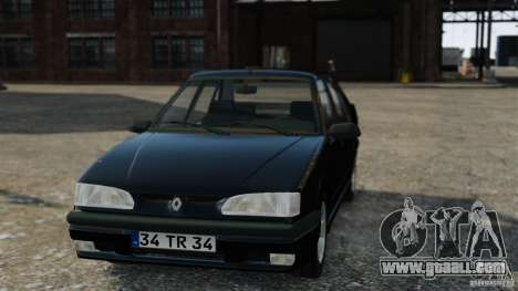 Renault 19 RL for GTA 4 right view