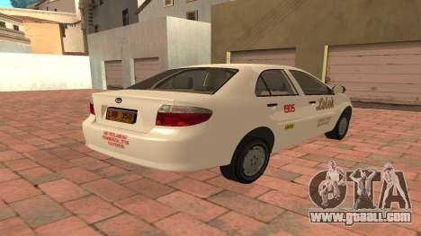 Toyota Corolla - LOLEK TAXI for GTA San Andreas right view