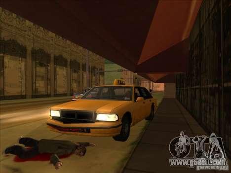 Blood drive v2 for GTA San Andreas forth screenshot