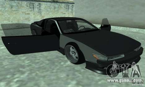 Nissan SIL80 for GTA San Andreas back left view