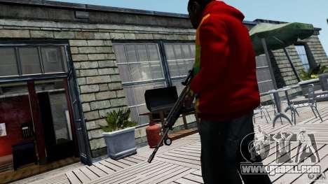 SIG SG 550 Sniper for GTA 4 forth screenshot